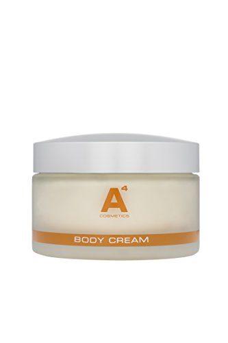 A4 - BODY CREAM | Feuchtigkeitsspendende Anti-Aging Körpercreme | Eco-zertifiziertes Arganöl | Intensive nährende Bodylotion (200ml)