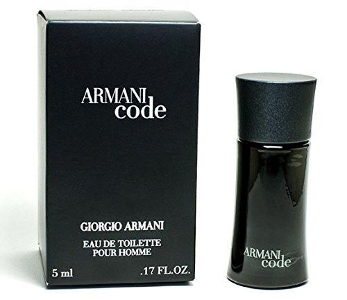 Armani Code pour Homme Herren Miniatur Eau de Toilette–4ml