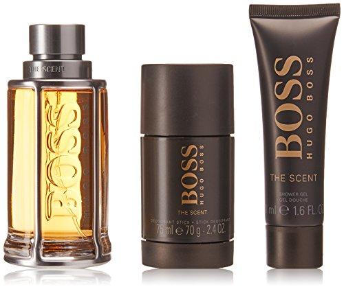 BOSS The Scent homme/man Set (Eau de Toilette (100 ml), Duschgel (50 ml), Deodorant Stick (75 ml))