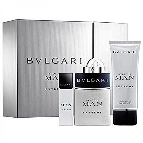 Bvlgari Man Extreme Geschenkpaket, After Shave Balm Plus Eau De Toilette, 1 Stück