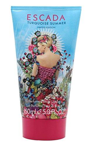 Escada Turquoise Summer femme/women, Perfumed Bodylotion, 1er Pack (1 x 150 ml)