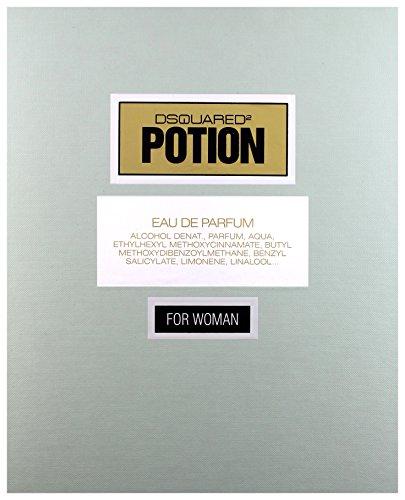 Frauen Geschenk Set Potion POUR FEMME: Eau de Parfum 50ml + Body Milk 100ml
