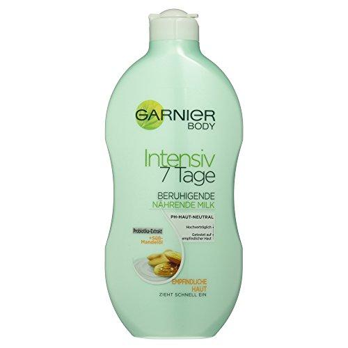 Garnier Body Intensiv 7 Tage Beruhigende, nährende Milk, 1er Pack (1 x 400 ml)
