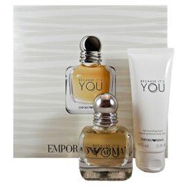 Giorgio Armani Because It`s You femme/woman Set, Eau de Parfum (30 ml), Bodylotion (75 ml)
