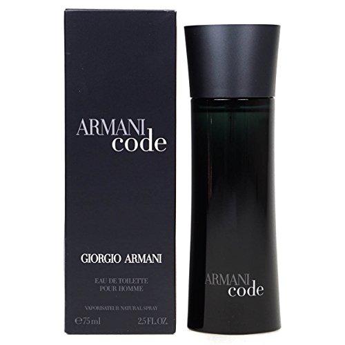 Giorgio Armani Code Pour Homme 75ml Eau de Toilette Spray–entsiegelt Box
