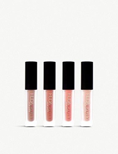 HUDA BEAUTY Au Natural Nudes Liquid Matte Lipstick 4x1.9ml