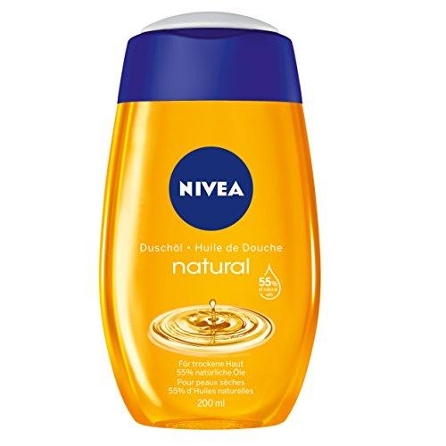Nivea Natural Duschöl, 2er Pack (2 x 200 ml)