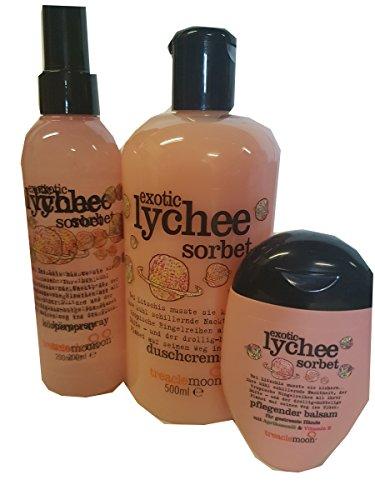 Treaclemoon Exotic Lychee sorbet 3-tlg. Set Dusche Körperspray Handcreme