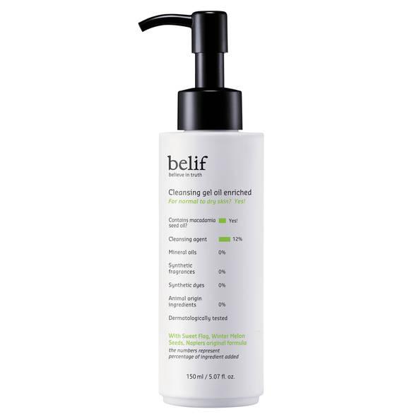 belif Cleansing Gel Oil Enriched - Gel-Reinigungsöl 150 ml