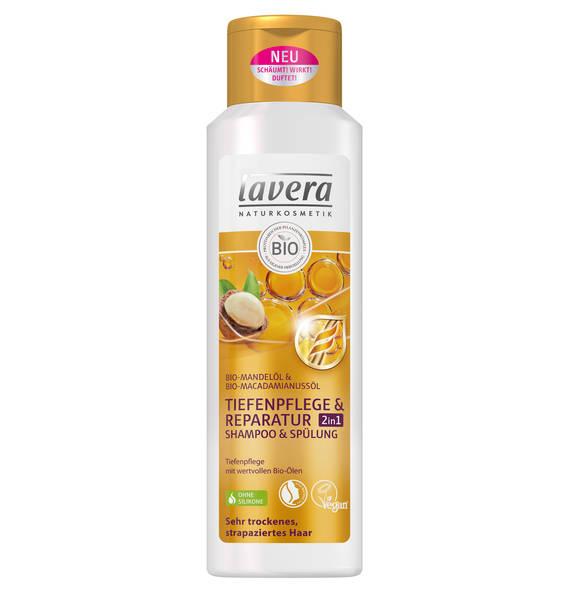 Lavera Hair Tiefenpflege & Reparatur 2in1 Shampoo & Spülung 250 ml