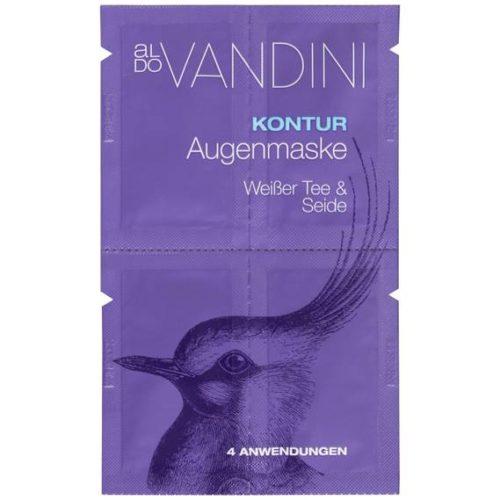 Aldo Vandini Kontur Augenmaske Weißer Tee & Seide 4 x 2,5 ml