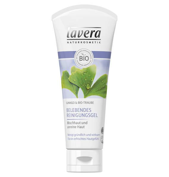 Lavera Ginkgo & Bio-Traube Belebendes Reinigungsgel 100 ml