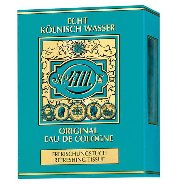 4711 Echt Kölnisch Wasser Erfrischungstuch 10 Stück