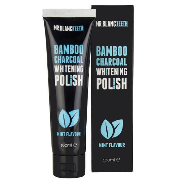 MR. BLANC TEETH Minty Fresh Teeth Whitening Polish - Zahnbleachingpaste