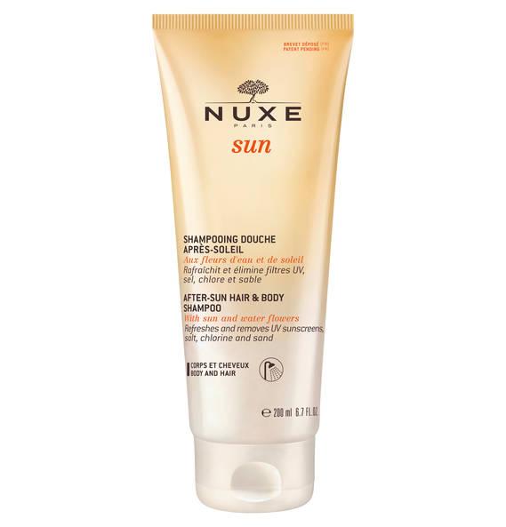 NUXE Feuchtigkeitsspendendes After-Sun-Duschshampoo 200 ml