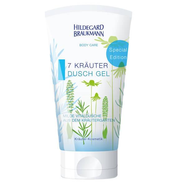 Hildegard Braukmann 7 Kräuter Dusch Gel 150 ml