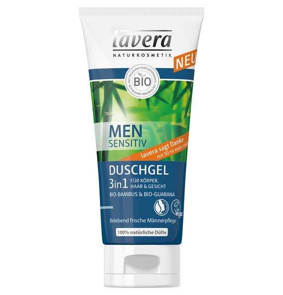 Lavera 3in1 Duschgel für Körper, Haar & Gesicht