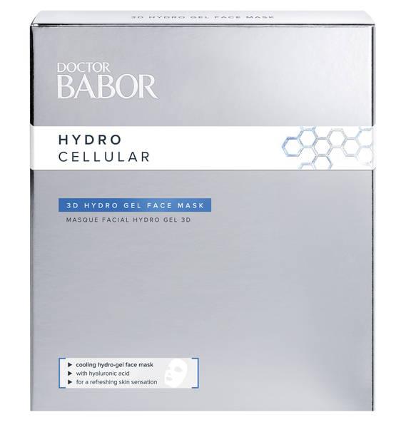 BABOR Hydro Cellular 3D Hydro Gel Face Mask 4 Stück
