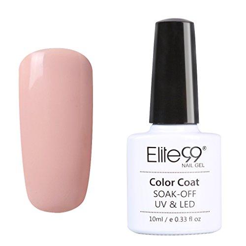 Elite99 UV Nagellack Nudefarben Serie Nail Gel Polish Nagelgel Nudefarben 10ML