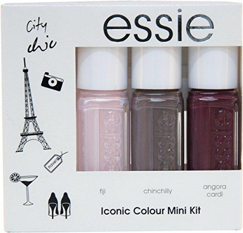 Essie Nagellack Iconic Colour Summer Vibes–3Stück Packung–insgesamt: 3Nagellacke